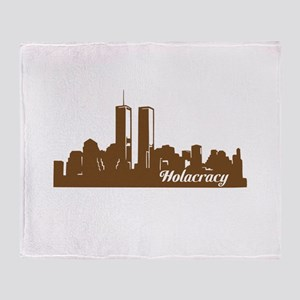 Holacracy Throw Blanket