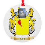 Roig Round Ornament