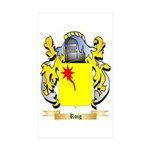 Roig Sticker (Rectangle 10 pk)