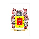Rohmer Sticker (Rectangle 50 pk)