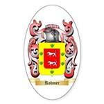 Rohmer Sticker (Oval 50 pk)