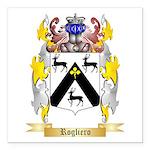 Rogliero Square Car Magnet 3