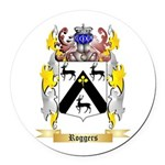 Roggers Round Car Magnet