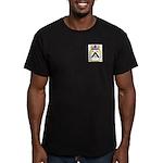 Roggero Men's Fitted T-Shirt (dark)