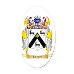 Rogger Oval Car Magnet