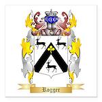Rogger Square Car Magnet 3