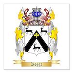 Rogge Square Car Magnet 3