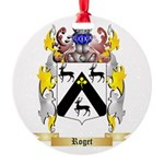 Roget Round Ornament