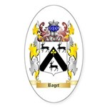 Roget Sticker (Oval 50 pk)