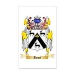 Roget 35x21 Wall Decal