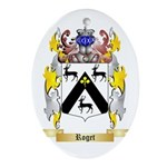 Roget Oval Ornament