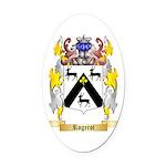 Rogerot Oval Car Magnet