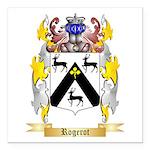 Rogerot Square Car Magnet 3