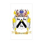 Rogerot Sticker (Rectangle 50 pk)