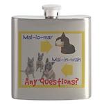 Malinois Mallomar Flask