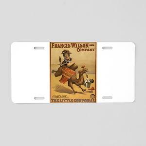 Vintage poster - The Little Aluminum License Plate