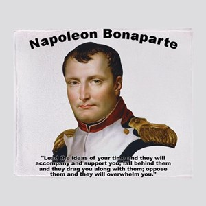 Napoleon Ideas Throw Blanket