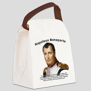 Napoleon Ideas Canvas Lunch Bag