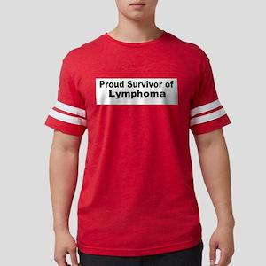 lymphoma4 Mens Football Shirt