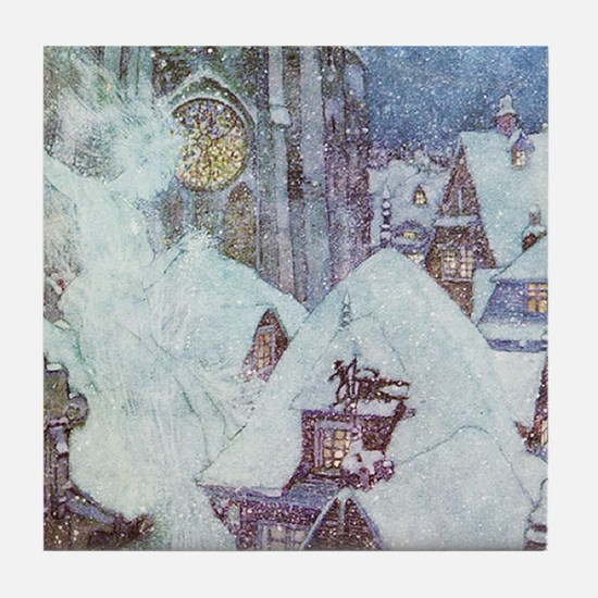 The Snow Queen Tile Coaster