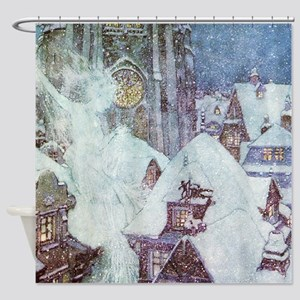 The Snow Queen Shower Curtain