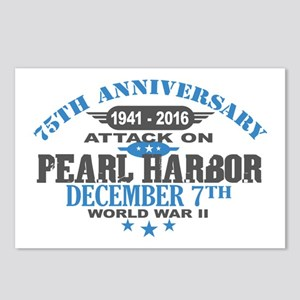 75th Anniversary attack on Pearl Harbor Postcards