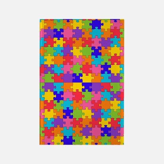 Cute Autism awareness Rectangle Magnet