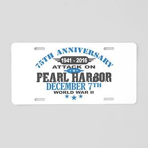 75th Anniversary attack on Pearl Harbor Aluminum L
