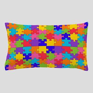 autism puzzle Pillow Case