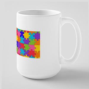 autism puzzle Mugs