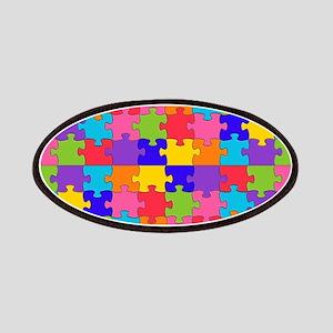 autism puzzle Patch