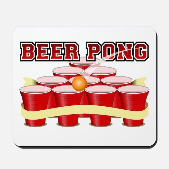 beer pong legend Mousepad