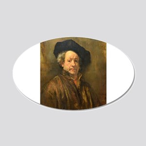 Famous Paintings: Rembrant Self Portrait Wall Deca