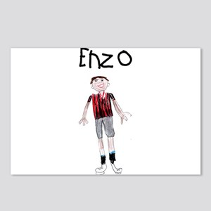 Enzo Postcards (Package of 8)