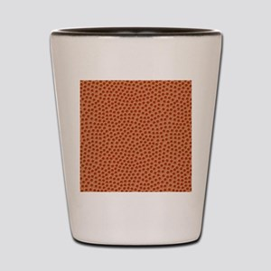 Basketball Texture Shot Glass