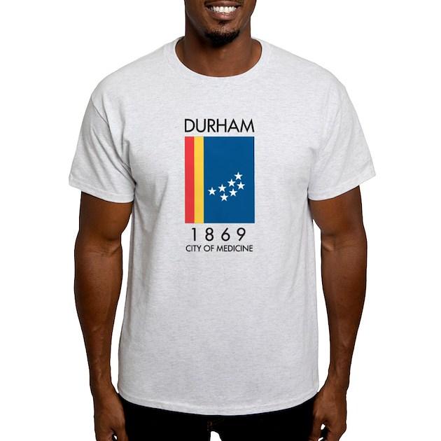 Durham City Of Medicine Light T Shirt Durham City Of Medicine T