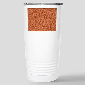 Basketball Texture Travel Mug