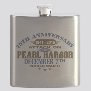 Pearl Harbor Anniversary Flask