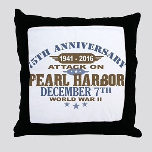 Pearl Harbor Anniversary Throw Pillow