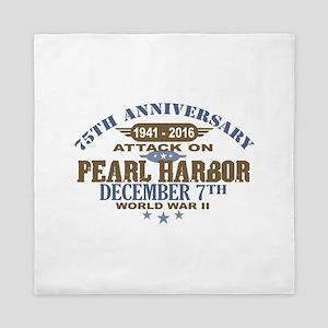 Pearl Harbor Anniversary Queen Duvet