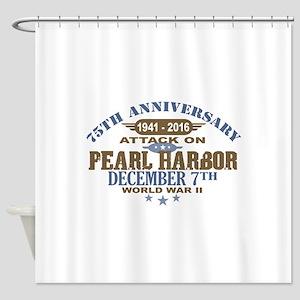 Pearl Harbor Anniversary Shower Curtain