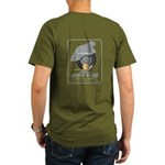 Socal Slow Ride 12 Organic Men's Dark T-Shirt