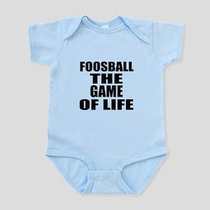 Foosball The Game Of Life Infant Bodysuit