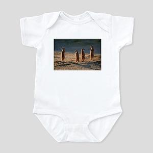 Family of meerkats Infant Bodysuit