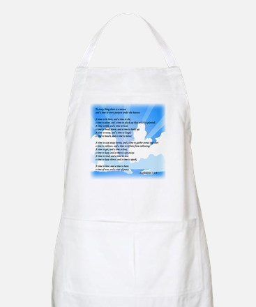 """To Every Thing ..."" BBQ Apron"