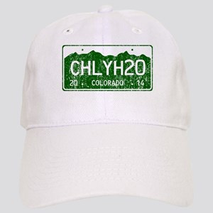Chilly Water Colorado License Plate DISTRESSED Cap