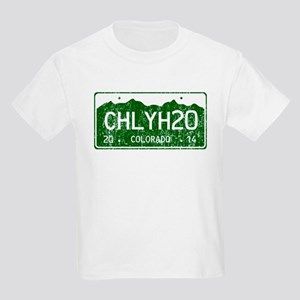Chilly Water Colorado License P Kids Light T-Shirt