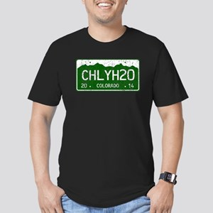 Chilly Water Colorado Men's Fitted T-Shirt (dark)