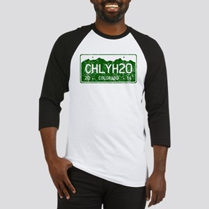 Chilly Water Colorado License Plat Baseball Jersey