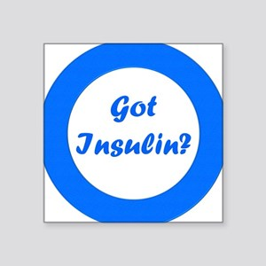 Got Insulin Rectangle Sticker